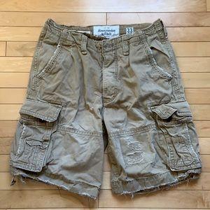 Men's Abercrombie & Fitch shorts, size 33